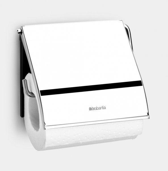 Uchwyt na papier toaletowy CLASSIC Brilliant Steel