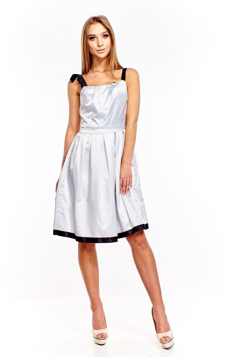 Sukienka FSU153 SZARY BLADY