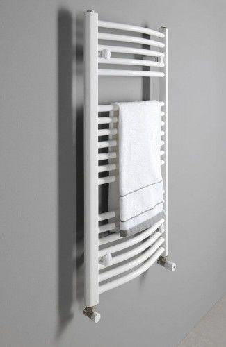 Grzejnik łazienkowy 45x99cm 432W biały c.o lub elektryczny