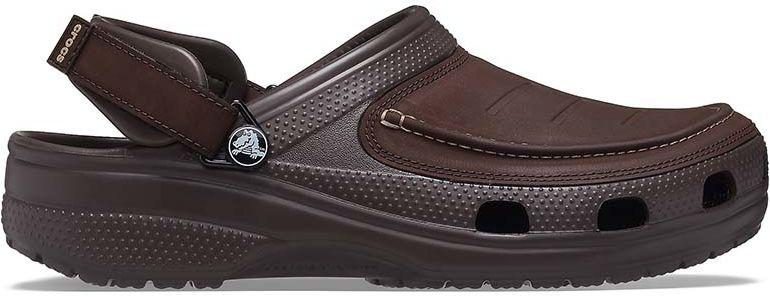 Sandały męskie Crocs Yukon Vista II Clog brązowe207142206