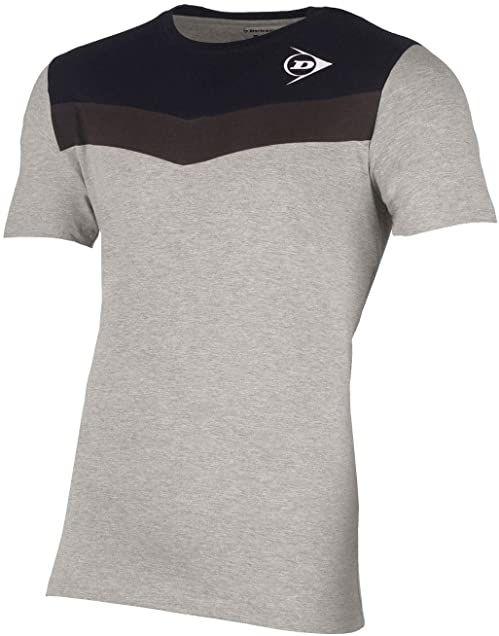 Dunlop Dziecięca koszulka 72256-164 Essentials Crew Grey/Antracyt, 164