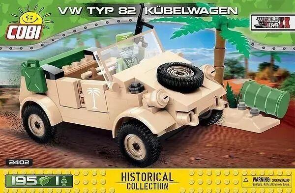 HC WWII VW typ 82 Kubelwagen - Cobi