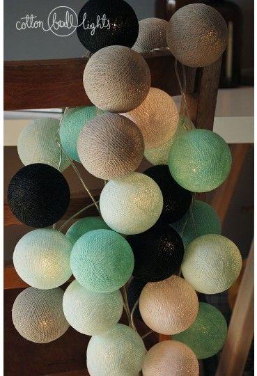 Kolorowe kulki LED kompozycja - Marin