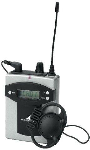 Monacor TXA-800R, 16-kanałowy odbiornik pll