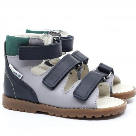 Mrugała Porto 1199/1299/1399 - 78 sandały, sandałki profilaktyczno-rehabilitacyjne chłopięce