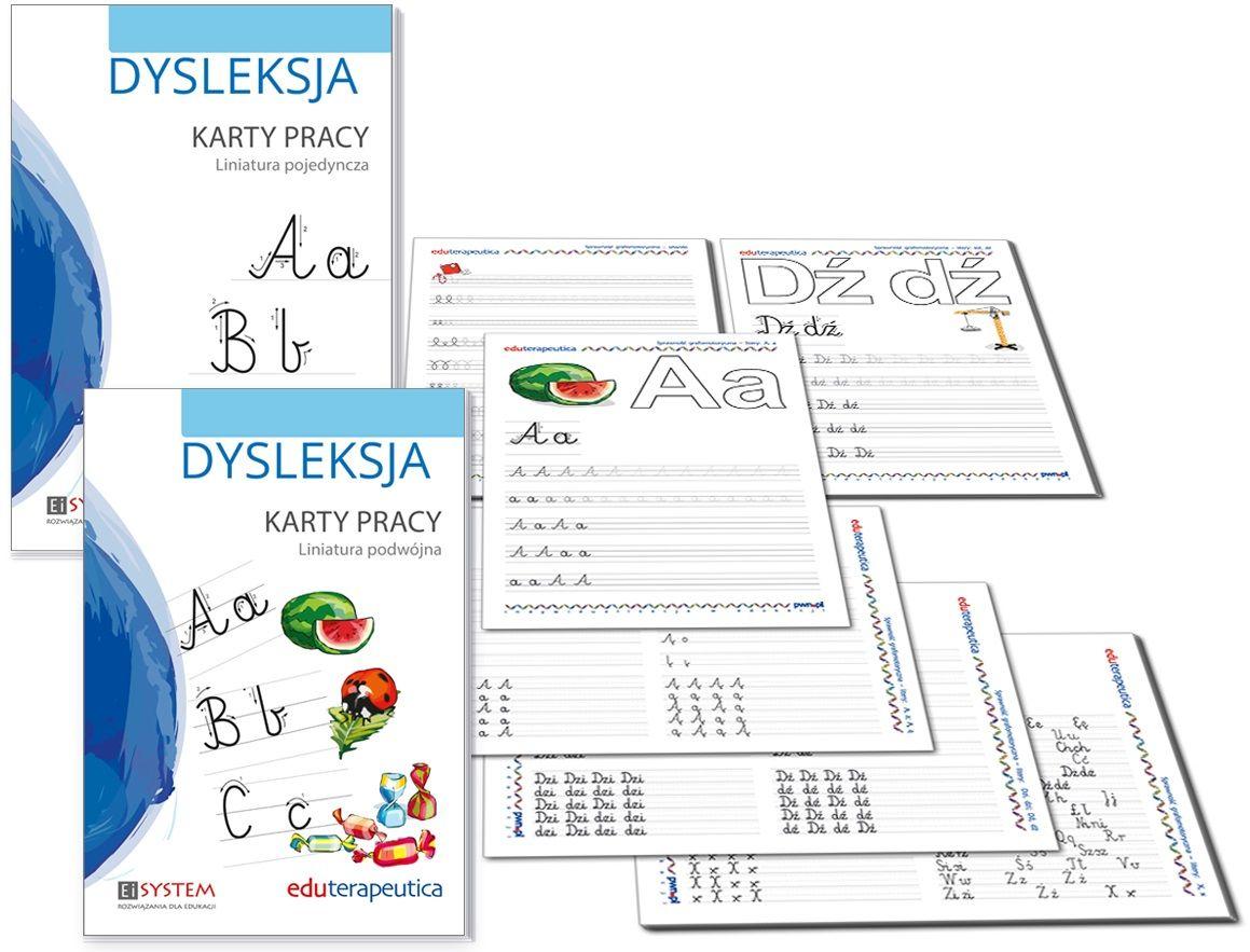 Eduterapeutica Dysleksja Karty pracy
