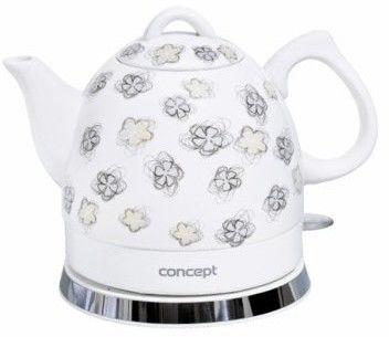 Czajnik elektryczny ceramiczny 1 l Concept RK-0010 tel. 697 256 410 - zadzwoń, zapytaj, negocjuj!