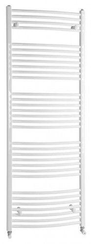Grzejnik łazienkowy 45x170cm 732W biały c.o lub elektryczny