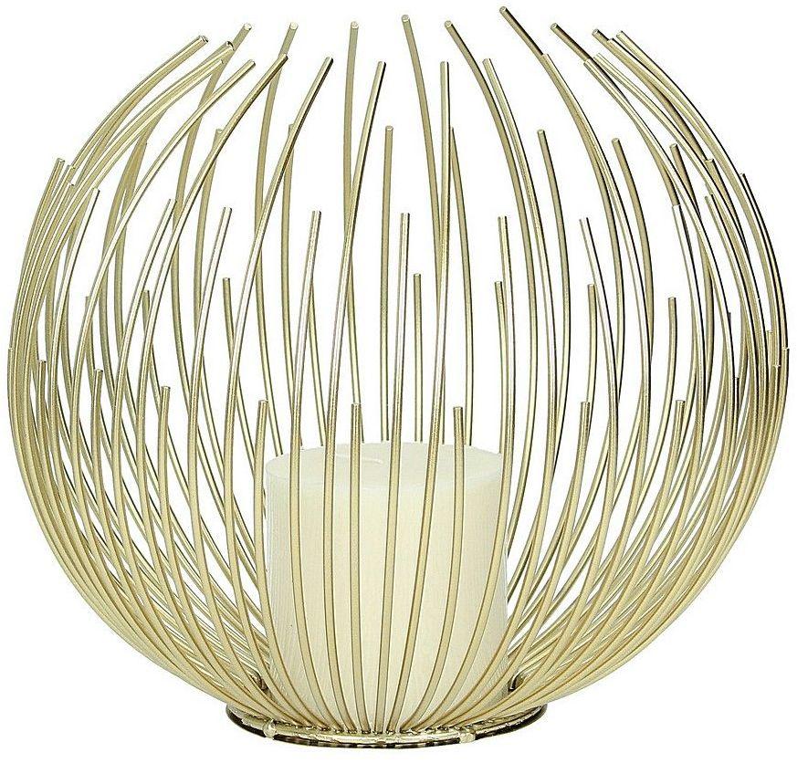Świecznik Kaliksta Gold 22cm, 25 x 22 cm