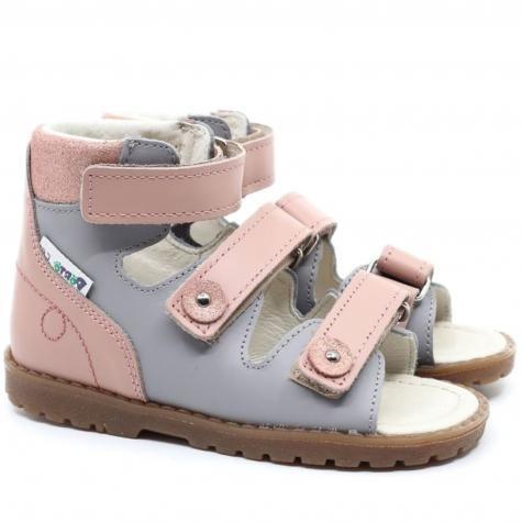Mrugała Porto 1199/1299/1399 48 sandały sandałki profilaktyczno-rehabilitacyjne dziewczęce