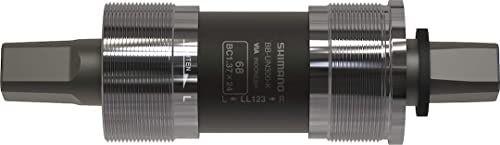 SHIMANO Unisex  dla dorosłych 68/122 łożyska wewnętrzne, czarne, rozmiar uniwersalny