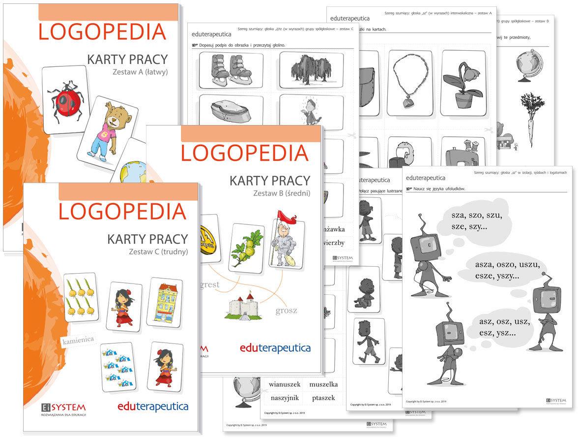 Eduterapeutica Logopedia Karty pracy