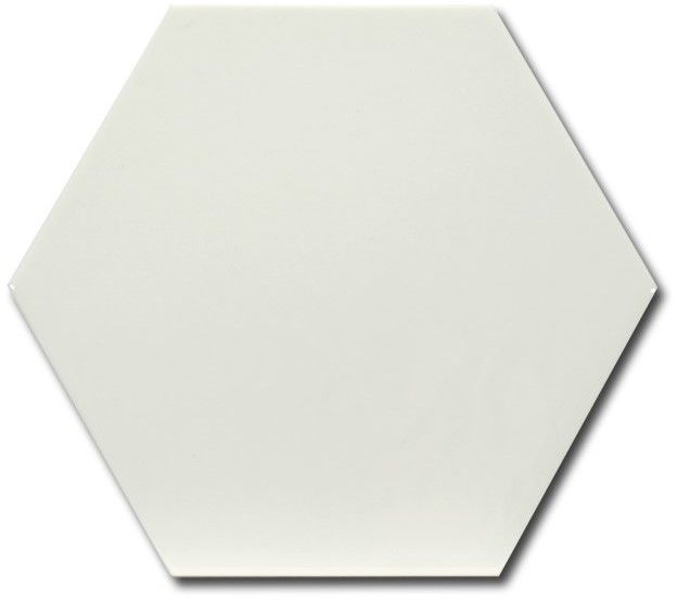 Hexatile Blanco Brillo 17,5x20