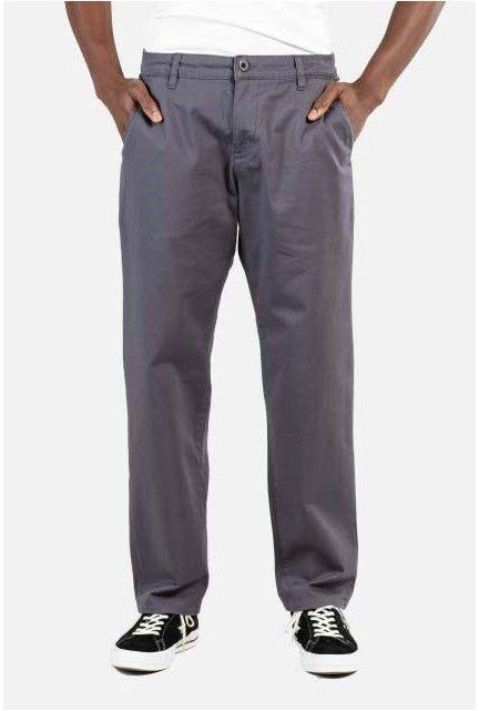spodnie REELL - Regular Flex Chino Dark Grey (140