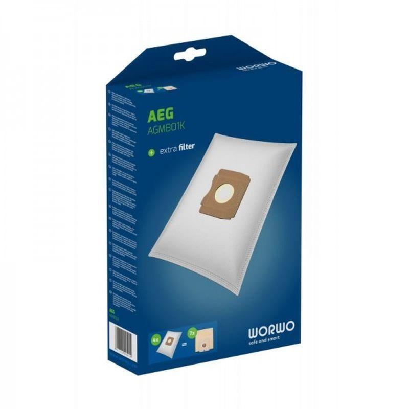 Worki do odkurzacza Worwo Perfect Bag SBMB01K Siemens/Bosch G/H kpl 4