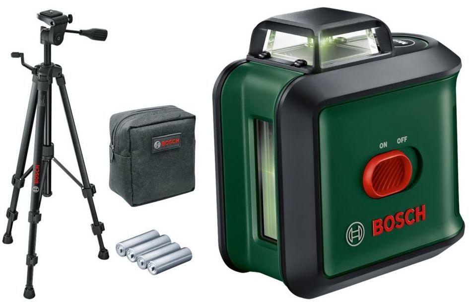Laser krzyżowy Unilevel 360 + TT 150 Bosch