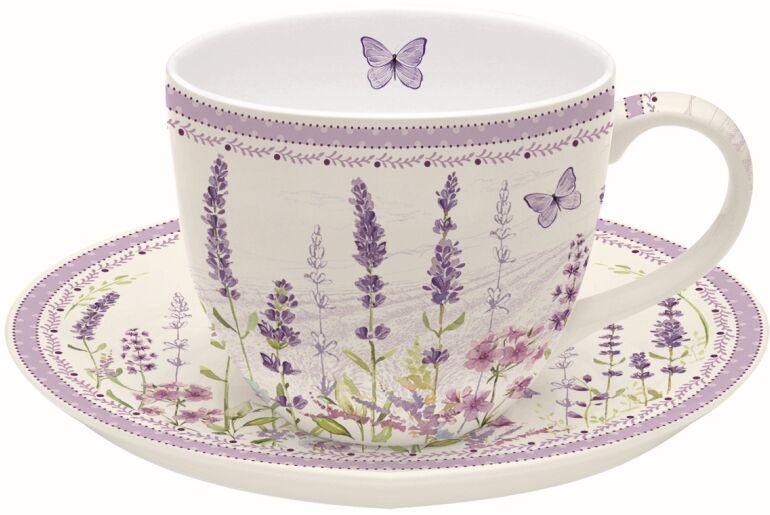 Easy Life/R2S, filiżanka 200ml - Lavender Field, lawenda