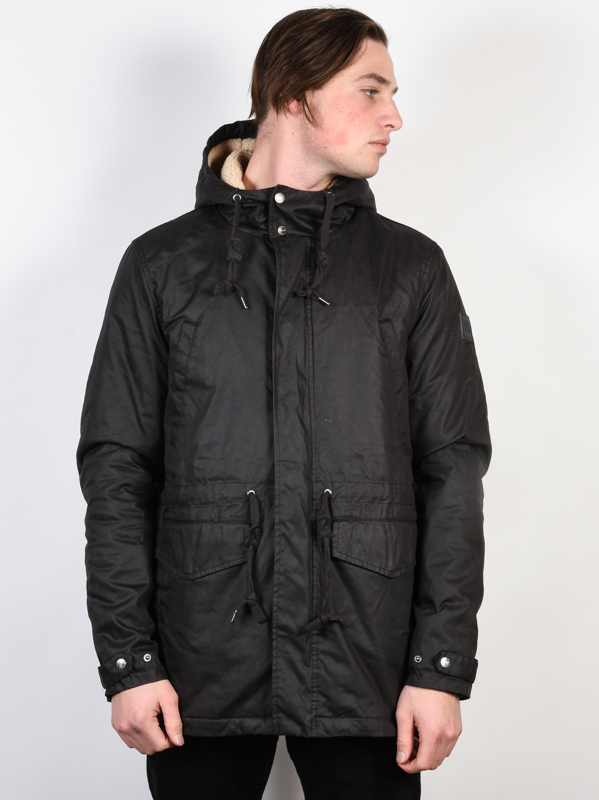 Element ROGHAN FLINT BLACK mens kurtka zimowa - L