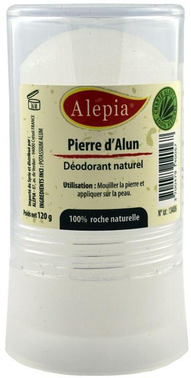 Naturalny dezodorant ałun w sztyfcie - 120g - Alepia