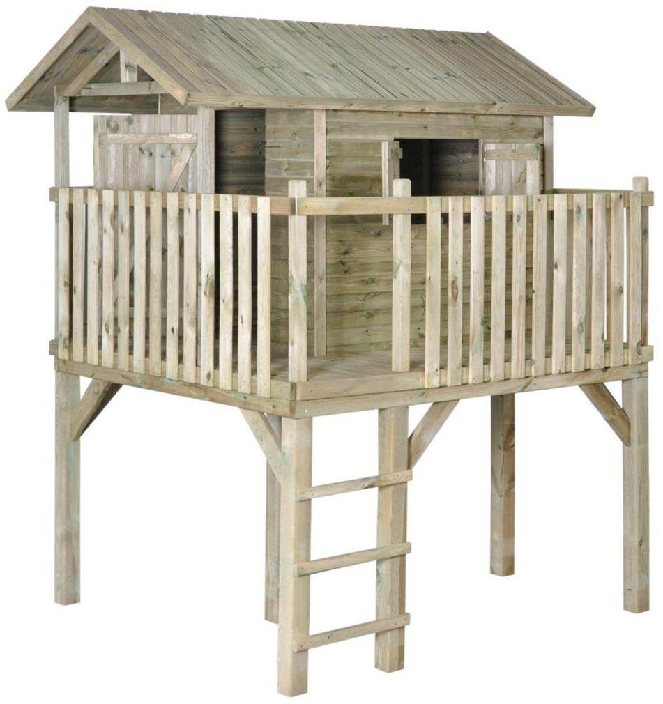 Domek dla dzieci JAKOB 195 x 242.5 x 280 cm SOBEX