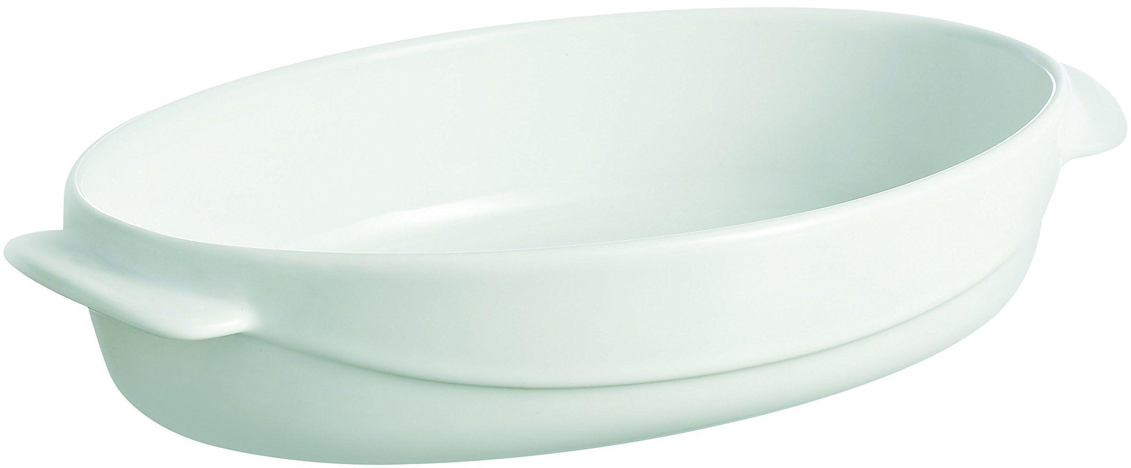 Pyrex Ceramic Wave 4936339 forma do pieca, biała