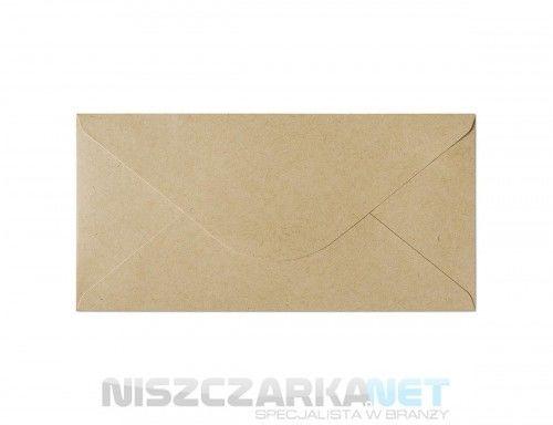 Koperta / koperty ozdobne DL - NATURE CIEMNOBEŻOWY opk 10szt 120g/m2