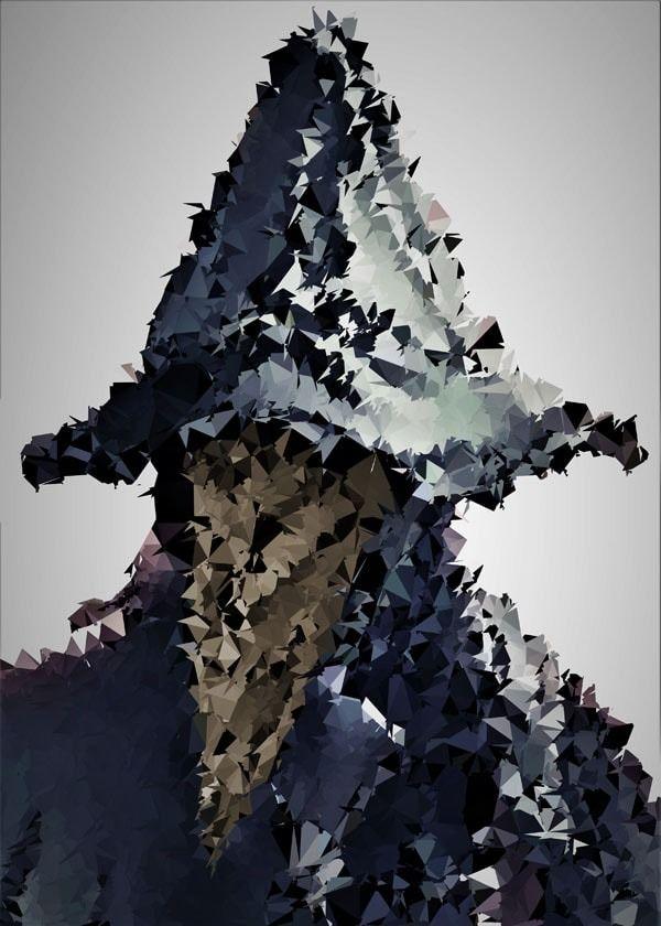 Polyamory - eileen, bloodborne - plakat wymiar do wyboru: 21x29,7 cm