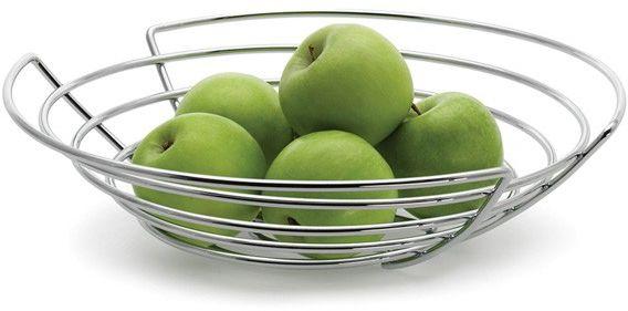 Blomus WIRES - Kosz na Owoce Płaski 30 cm