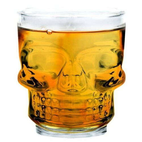 Kieliszki do wódki whisky czaszki Skull Shot Vin Bouquet 4 szt