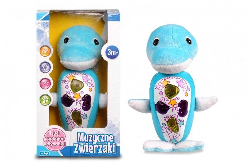 Zabawka muzyczna - Delfinek