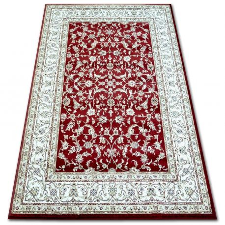 Dywan KLASIK 4174 d.red/d.cream 80x150 cm