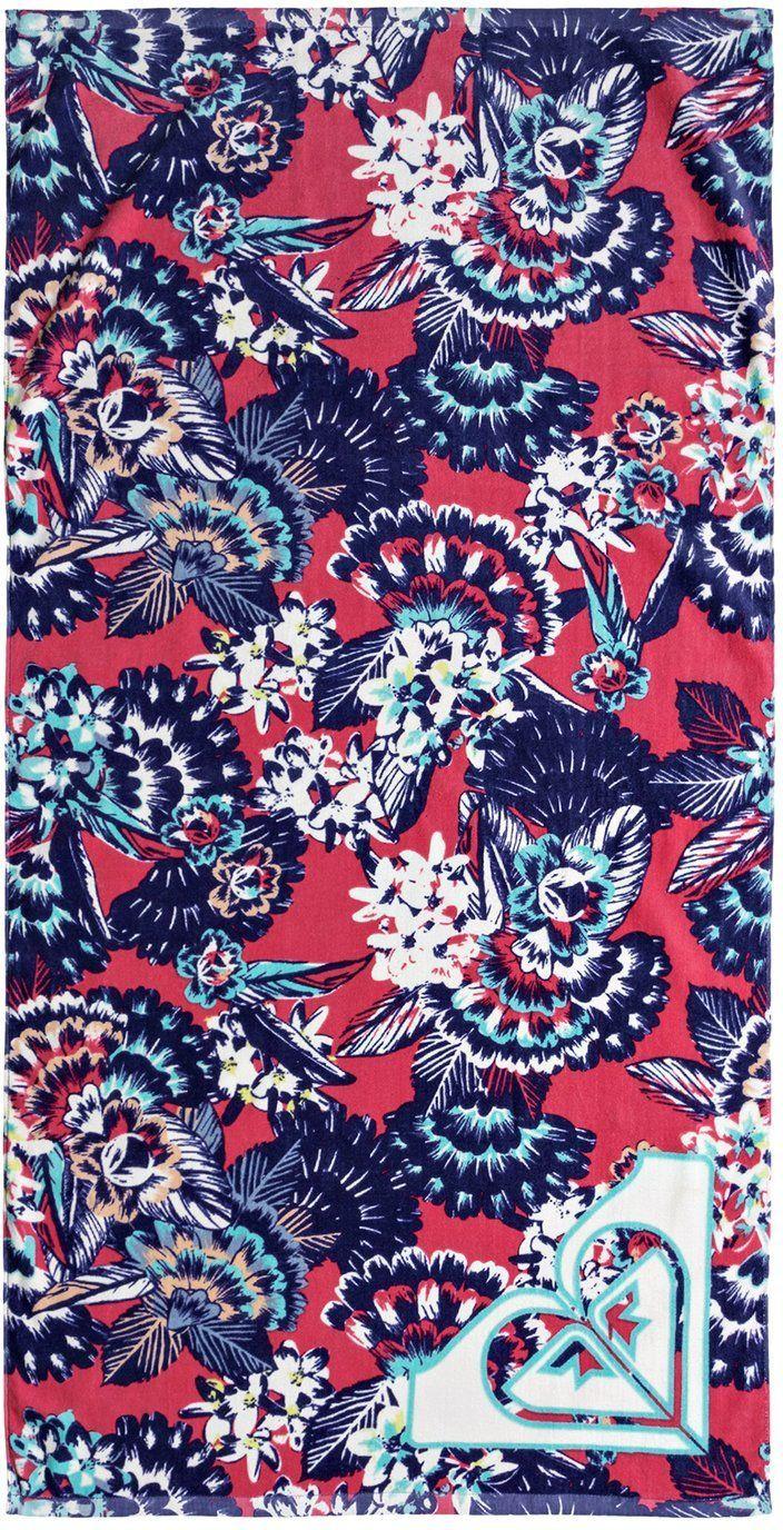 ręcznik dziecięcy ROXY PRETTY SIMPLE YOUTH Rouge Red Mahna Mahna - MLJ5