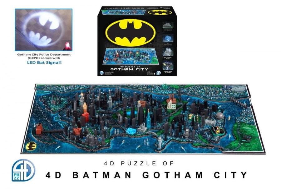 Puzzle 4D - Batman Gotham City