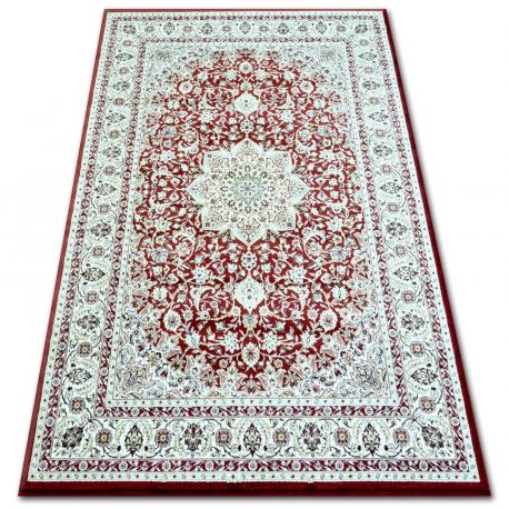 Dywan KLASIK 4179 d.red/d.cream 80x150 cm