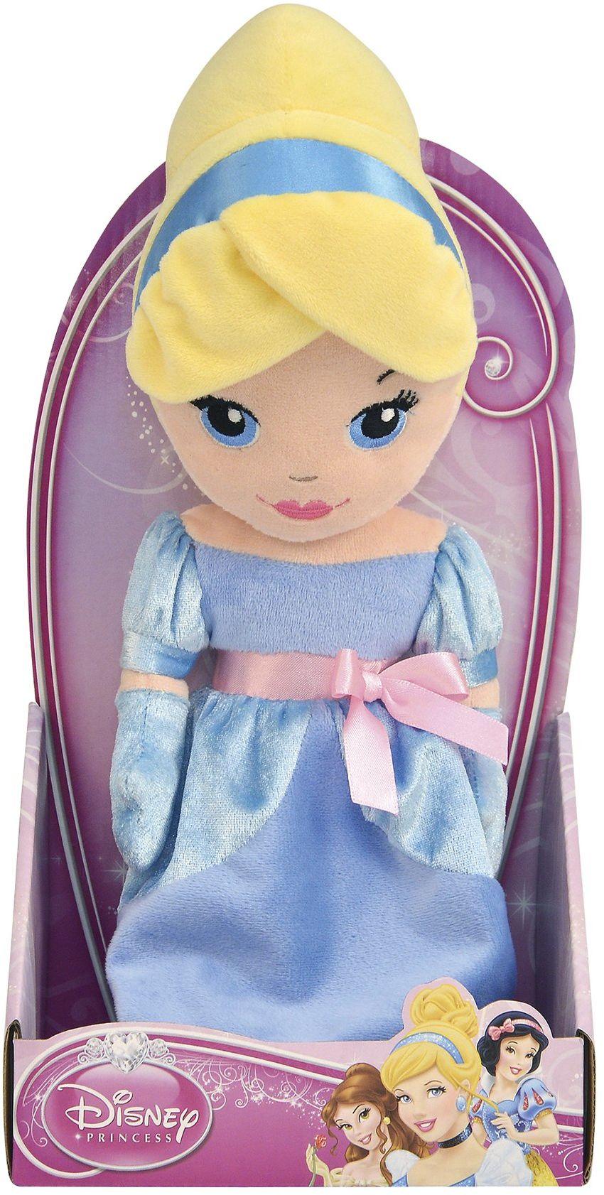 Grandi Giochi GG01210 Cinderella figurka do zabawy z pluszu, rozmiar 25 cm