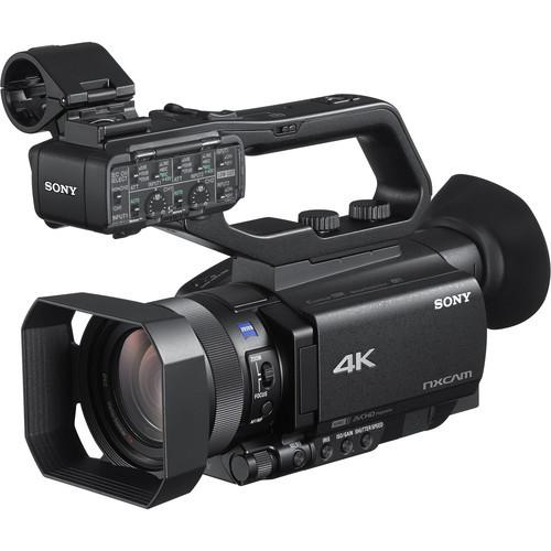 Sony HXR-NX80 - kamera cyfrowa 4K z przetwornikiem CMOS Exmor Sony HXR-NX80 - kamera 4K / Full HD / HDR