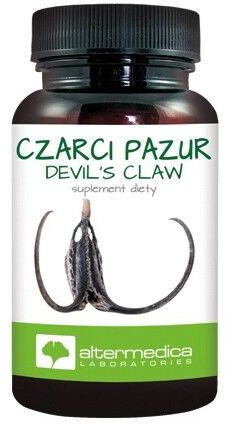 Alter Medica Devil s claw - Czarci pazur 450 mg 60 kaps.