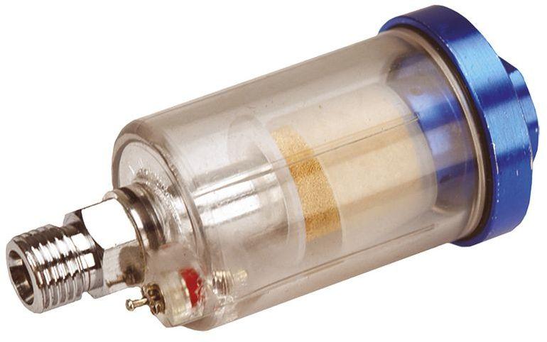 Filtr sprężonego powietrza 1/4cala mini zawór spustowy 75M559