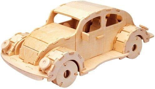 Łamigłówka drewniana Gepetto - Samochód (Car)