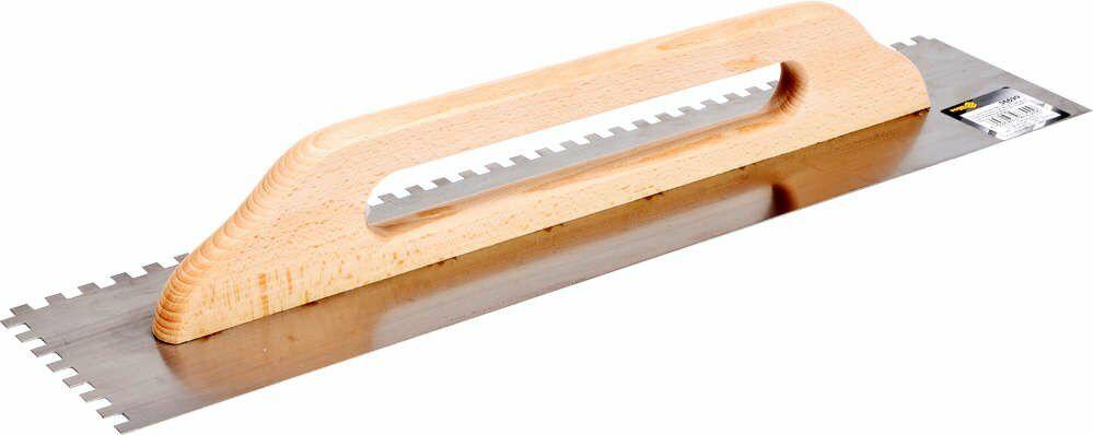 paca tynkarska nierdzewna 580 x 128mm zęby 8 x 8mm Vorel 06690 - ZYSKAJ RABAT 30 ZŁ