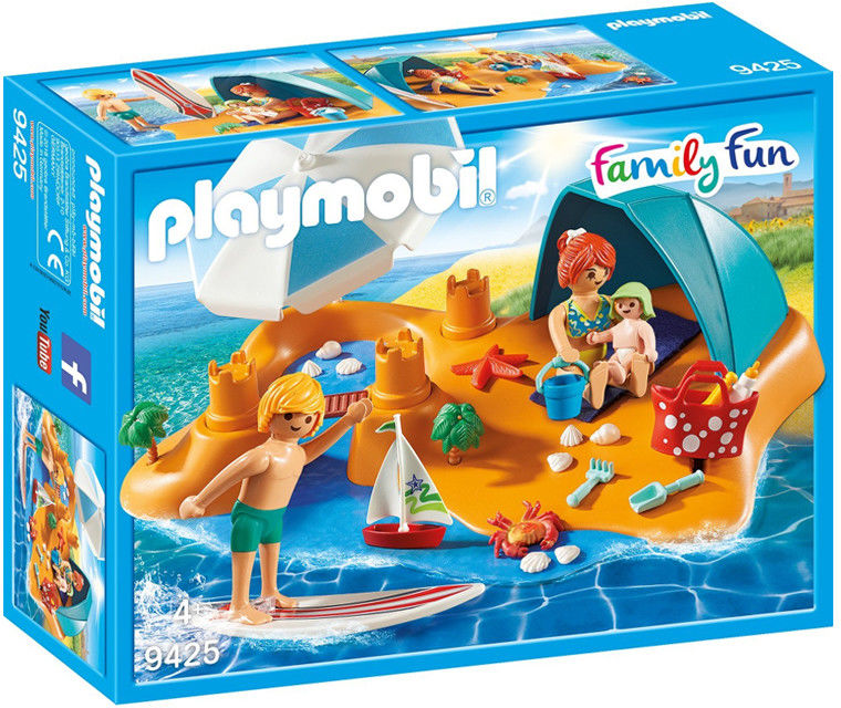 Playmobil - Rodzina na plaży 9425