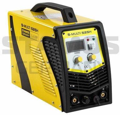 Urządzenie wielofunkcyjne - TIG 180 A - CUT 40 A - MMA + Maska spawalnicza - Carbonic - Professional - Stamos Selection - S-MULTI525H - 3 lata