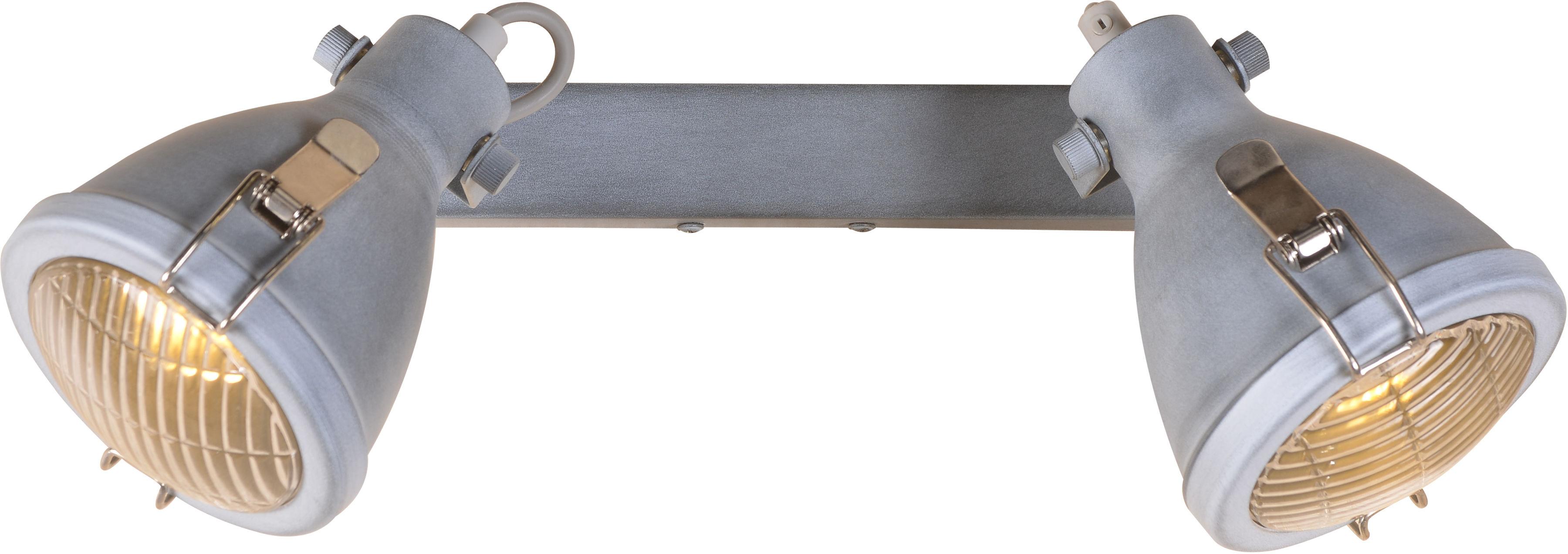 Candellux CRODO 92-71118 oprawa oświetleniowa szara regulacja klosza 2X40W E14 45cm