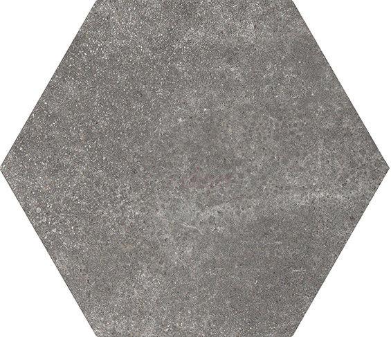 Hexatile Cement Black 17,5x20