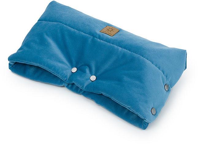 MAMO-TATO Mufka do wózka Velvet - Jeans