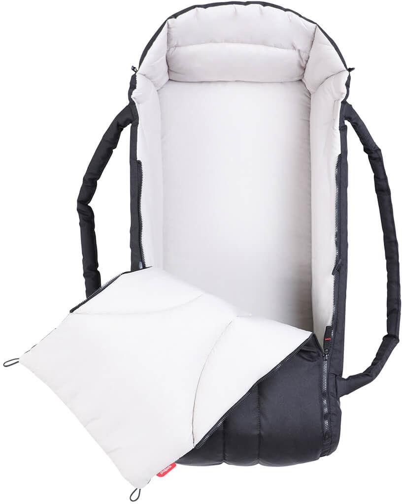 phil&teds 2019+ lekka gondolka/nosidełko Cocoon long do wózków Dot/Dash/Sport 70cm