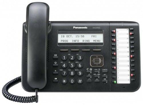 KX-DT543X Telefon systemowy CZARNY - Panasonic