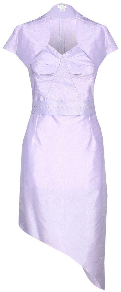 Sukienka FSU155 FIOLETOWY
