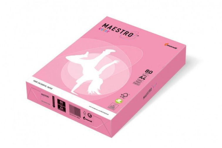 Papier Mondi MAESTRO Color Neon - NEOPI50 - neon różowy (A4/80 g/m2) - 5 ryz (NEOPI50)