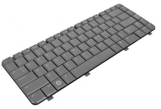 klawiatura laptopa do HP COMPAQ dv4 - matowa